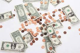 pennies dollars